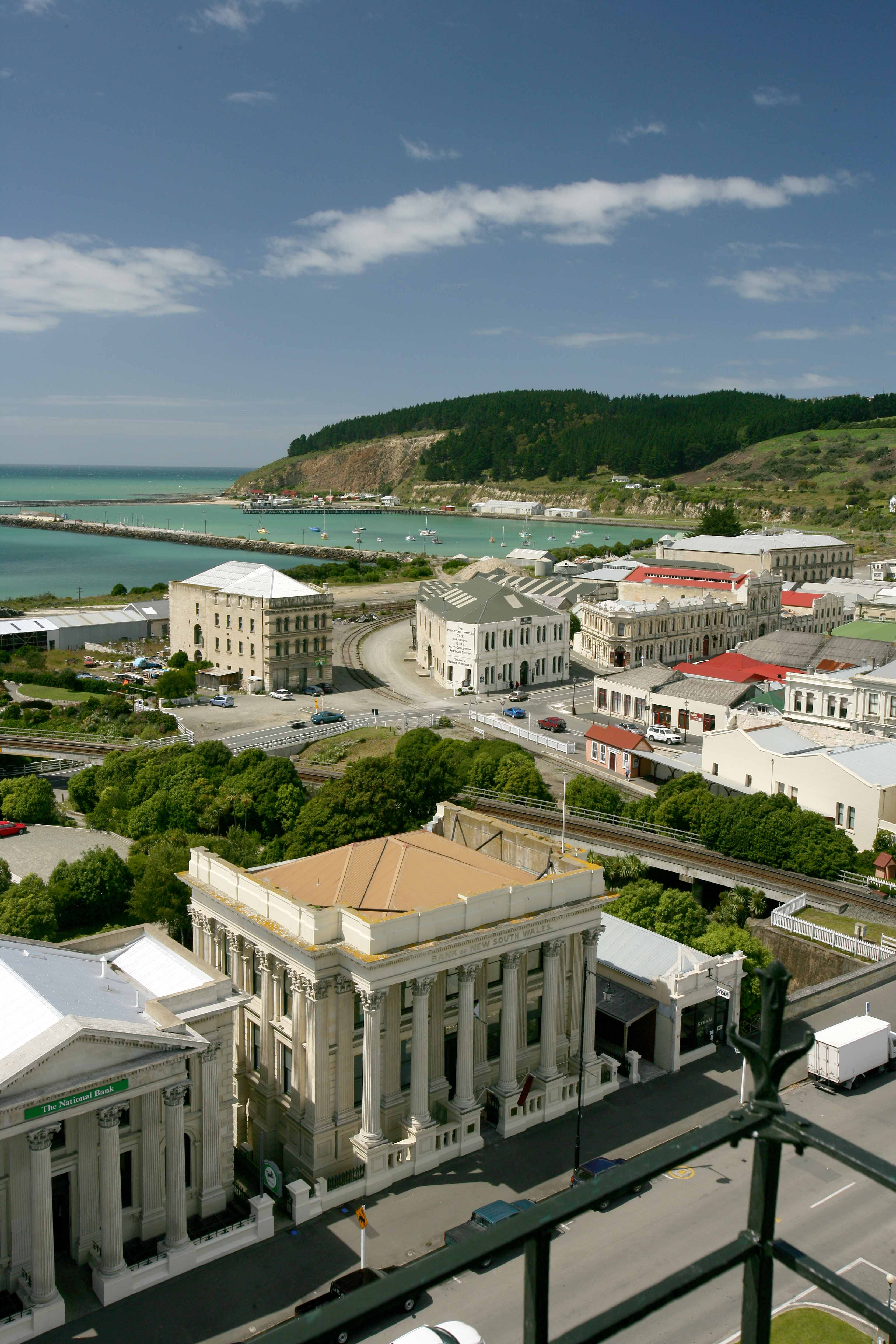 View over Oamaru